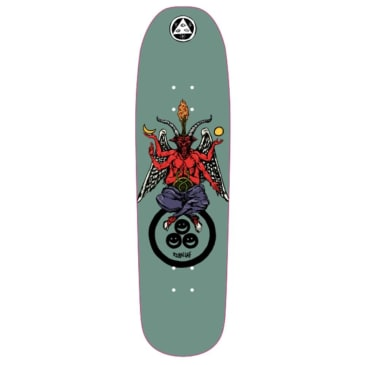 "Welcome Skateboards - Ryan Lay Bapholit On Stonecipher Deck 8.6"" Wide"