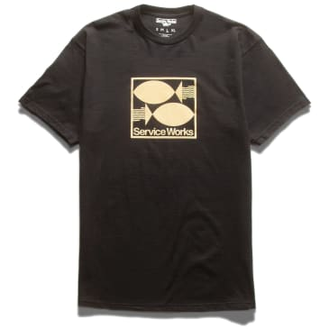 Service Works Turbot T-Shirt - Black