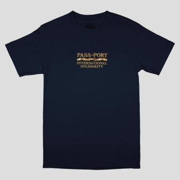 Pass~Port Skateboards - Intersolid Tee - Navy