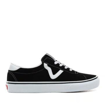 Vans Epoch Sport Pro Skate Shoes - Black / White