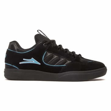 Lakai Carroll Suede Skate Shoes - Black