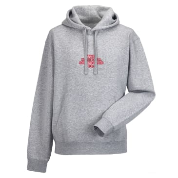The National Skateboard Co. Classic Hoodie - Heather Grey
