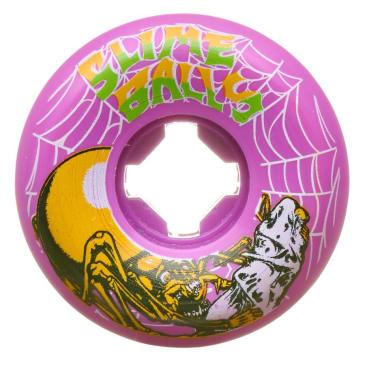 Santa Cruz Slime Balls Web Speed Balls 54mm 99A Wheels (Purple)