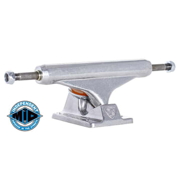 Independent Trucks - (Single) Indy 129 Stage 11 Mid Skateboard Truck - Raw