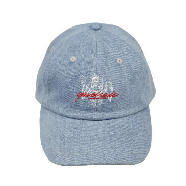 Yardsale Skully Cap Denim - Blue