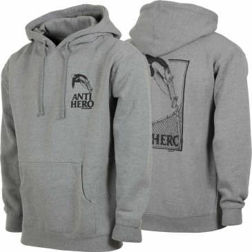 Anti-Hero Lance 'Kanfoush' Hoodie - Grey