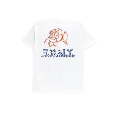 5Boro DIY Rose T-Shirt - White