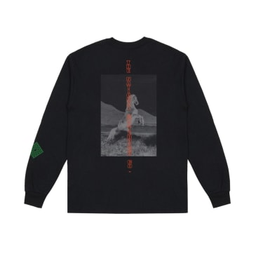 The National Skateboard Co. Buck Long Sleeve T-Shirt - Black
