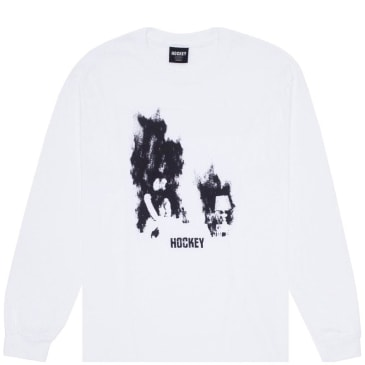 Hockey At Ease Long Sleeve T-Shirt - White