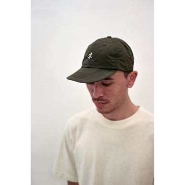 Shell Umpire Cap Deep Olive