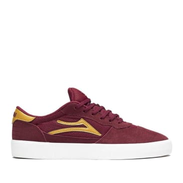 Lakai Cambridge Suede Skate Shoes - Burgundy
