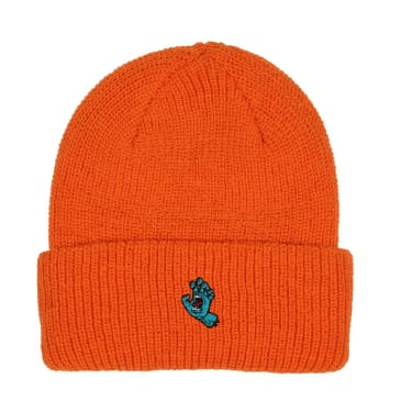 SANTA CRUZ Screaming Hand Beanie Orange