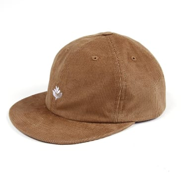 Magenta Skateboards - Corduroy 6 Panel Cap - Honey