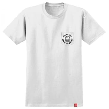 Spitfire Bighead LTB T-shirt - White/Black
