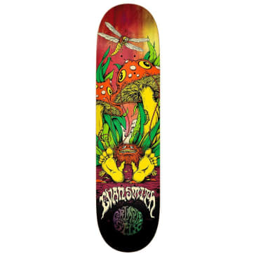 Antihero Evan Grimple Shrunken Skateboard Deck 8.5""