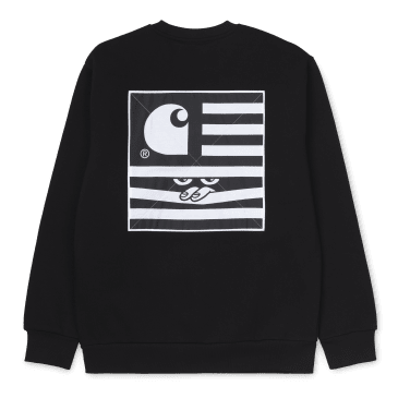 Carhartt WIP Incognito Sweat - Black