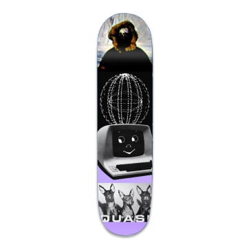 Quasi Kraftwerk Two Skateboard Deck - 8.75""