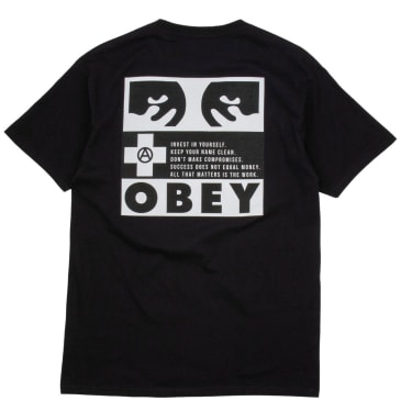 OBEY All That Matters T-Shirt - Black