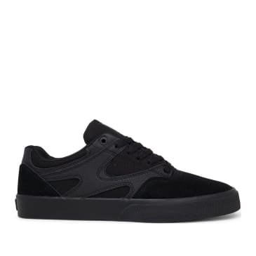 DC Kalis Vulc Skate Shoes - Black / Black / Black