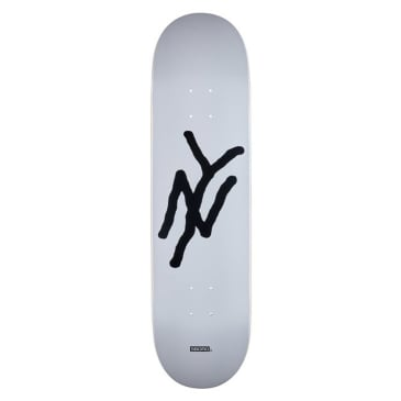 5Boro - NY Monogram Deck White - 8.375""
