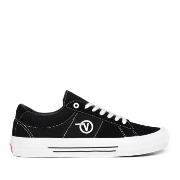 Vans Saddle Sid Pro Skate Shoes - Black / White