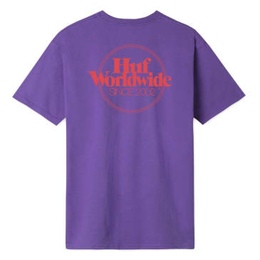HUF - HUF Issue Logo Pocket T-Shirt | Purple