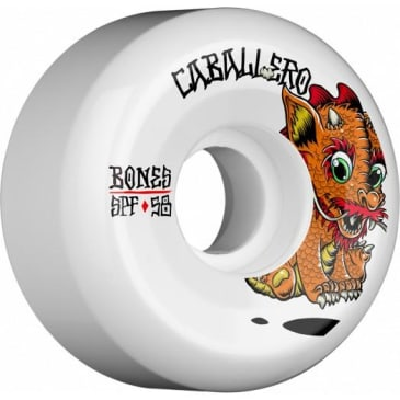 Bones Wheels SPF Pro Caballero Baby Dragon Skateboard Wheels P5 Sidecut 58mm 84B