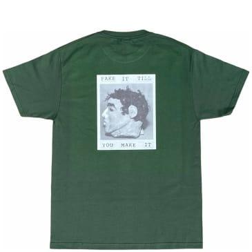 Poets Frank Morris T Shirt - Green
