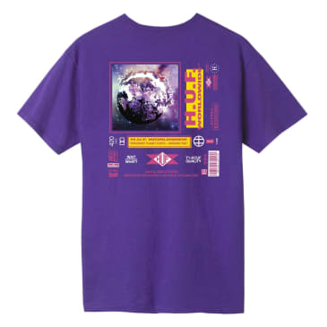HUF Fidelity T-Shirt - Grape