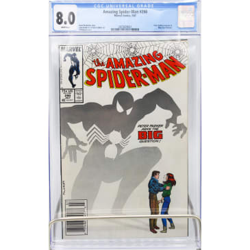 AMAZING SPIDER-MAN (#290 GRADED 8.0)