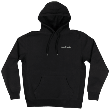 Heartthrobs Cross Weave Logo Hoodie Black