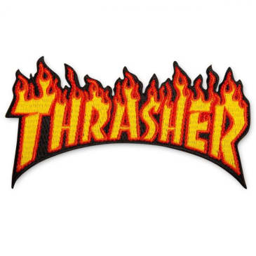 Thrasher - Flame Logo Patch