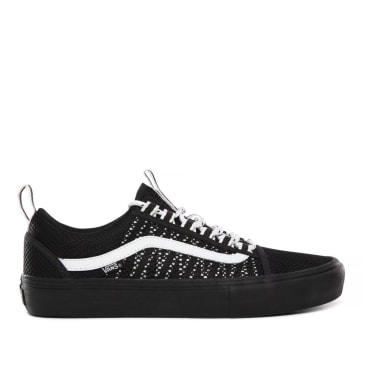 Vans Old Skool Sport Pro Skate Shoes - Black / Black