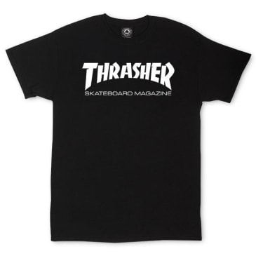 Thrasher - Skate Mag SS Black/White