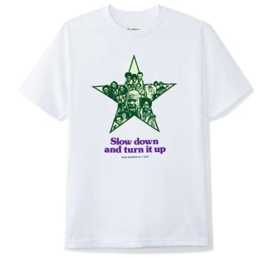 Butter Goods Turn it Up Tee (White)