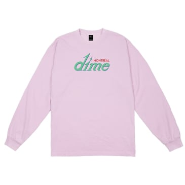 Dime Hotel Long Sleeve T-Shirt - Pink