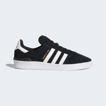 Adidas Campus ADV Shoes - Core Black/Cloud White/Cloud White