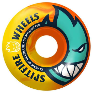 Spitfire Wheels Bighead 99a Neon Orange/Yellow 54mm