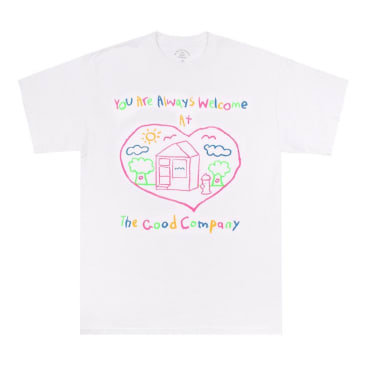 The Good Company - Welcome Tee - White/Multicolour