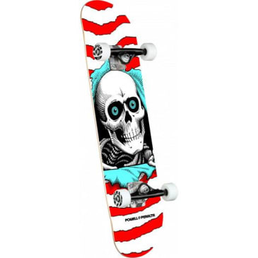 Powell Peralta Ripper One Off Red Birch Complete