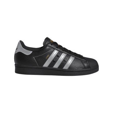 adidas Superstar ADV x Soto Skate Shoe - Core Black / Silver Met / Gold Met