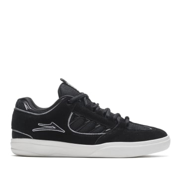 Lakai Carroll Suede Skate Shoes - Black / White
