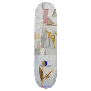 Isle Skateboards Sculpture Series Remy Taveira Skateboard Deck - 8.25""