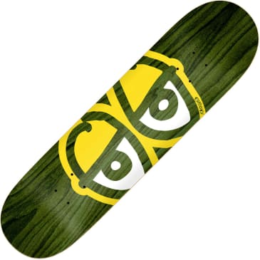 "Krooked Team Eyes deck (8.25"", yellow)"