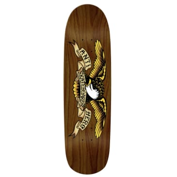 Anti Hero Skateboards Eagle Overspray Brown Bomber Deck 8.86