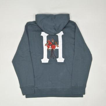 Huf - Memorium Classic H Pullover Hooded Sweatshirt - Blue Mirage