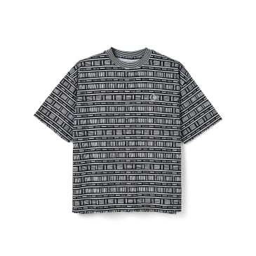 Polar Skate Co Stripe Surf T-Shirt - Black