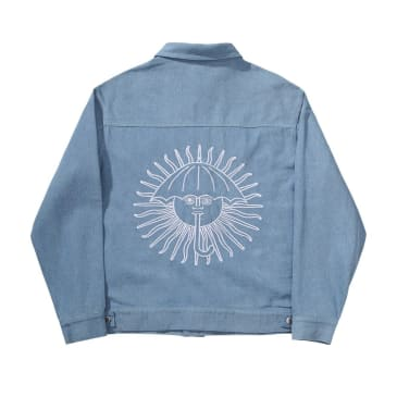 Helas Parasol De Mayo Denim Jacket - Light Blue