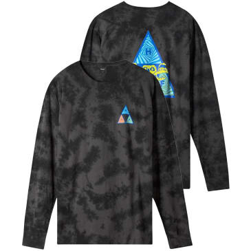 HUF Acid Skull Triple Triangle Long Sleeve T-Shirt