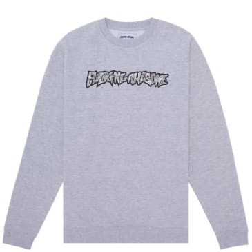 Fucking Awesome Actual Visual Guidance Crewneck - Heather Grey